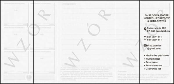 Agencja Reklamowa REKOS - okładki na dowody rejestracyjne