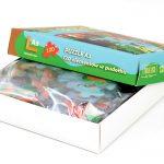 Agencja Reklamowa REKOS - twarda oprawa - puzzle w pudełku