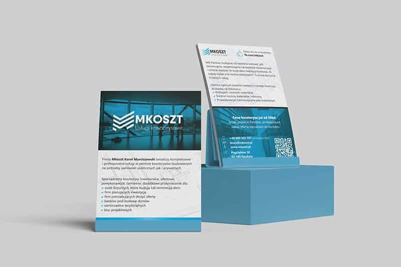 Agencja Reklamowa REKOS - MKoszt - ulotki
