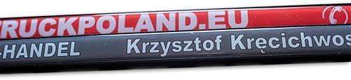 Agencja Reklamowa REKOS - ramki pod tablice rejestracyjne - doming
