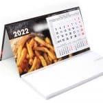 Agencja Reklamowa REKOS - kalendarz biurkowy LUX